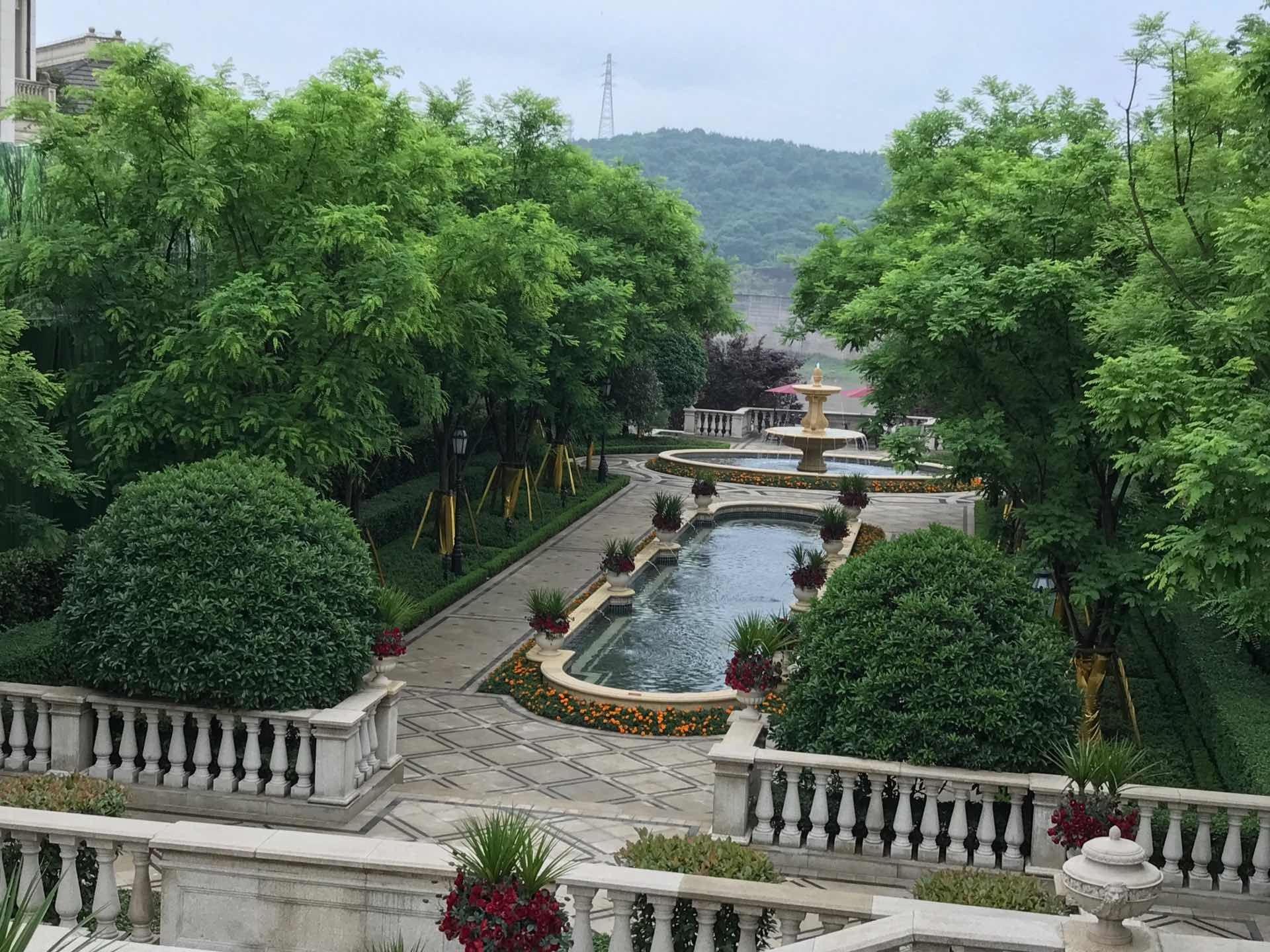 特房景观设计v精品精品考察重庆九大景观楼盘人员参加活动室内设计公司怎么收费标准图片